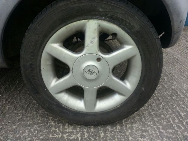 Hi I Need A Wheel With Alu Rim For Ford Ka  Year Tyre Size