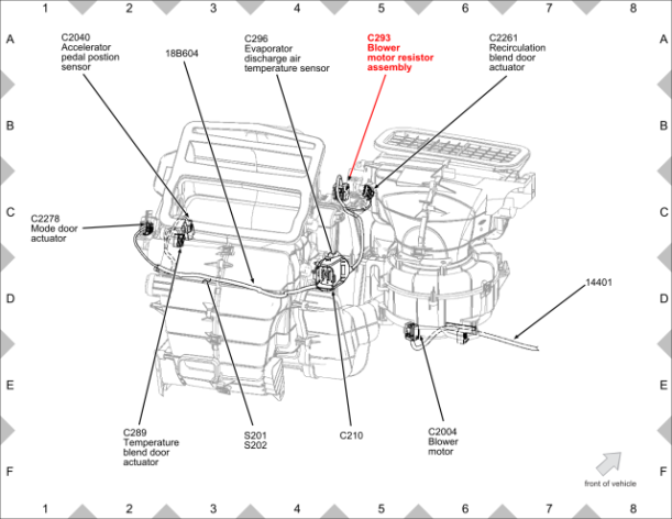 ford flex hvac diagram
