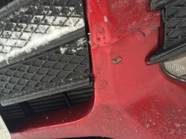 Crack Bumper Repair Cost